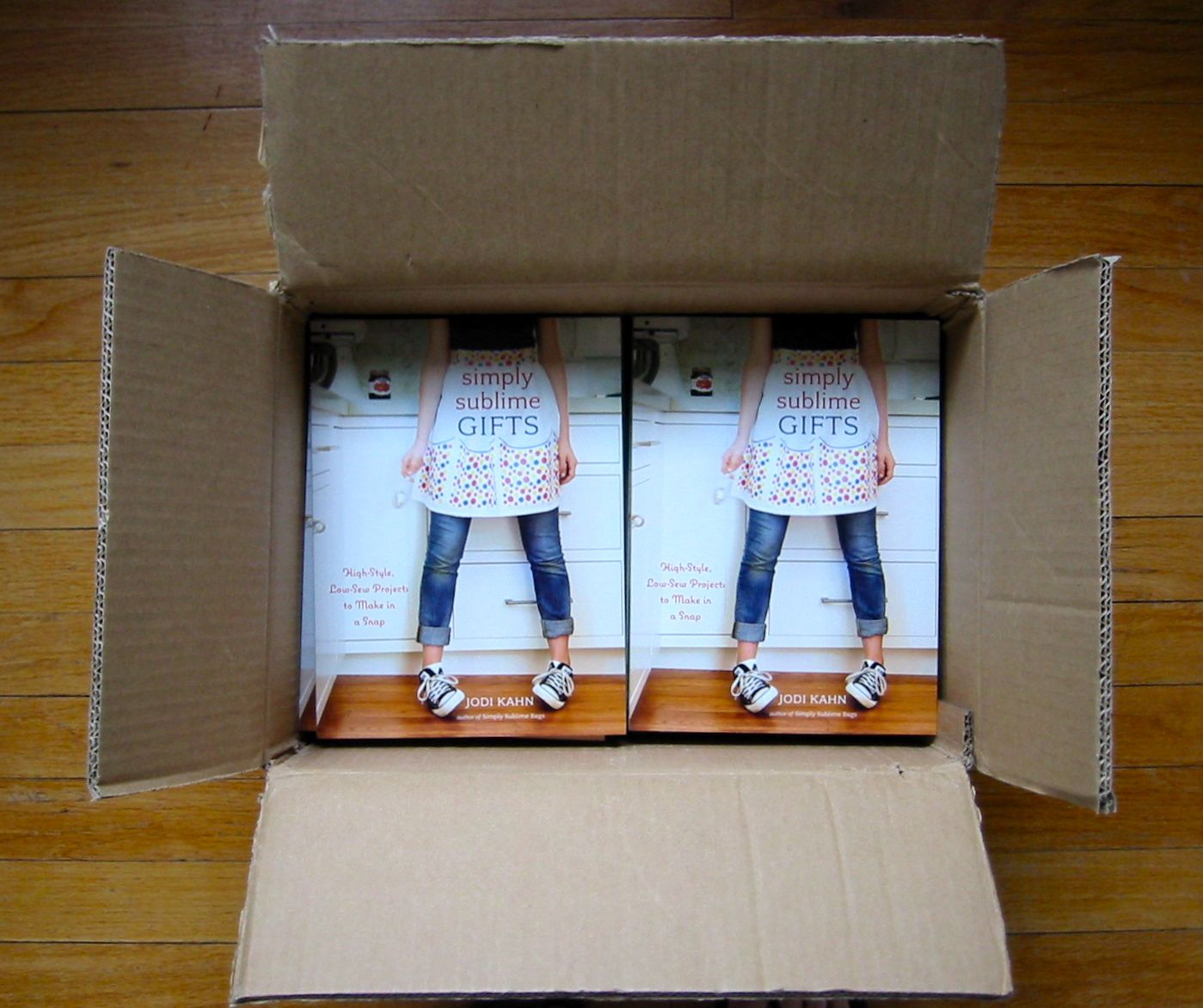 Books in box