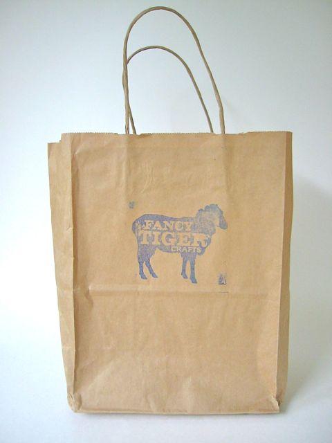 Fancy tiger bag