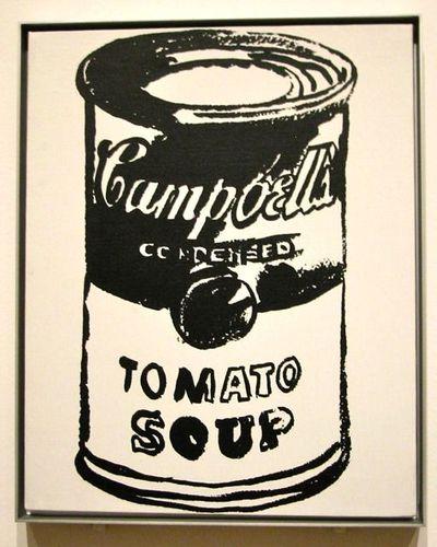 Warhol can