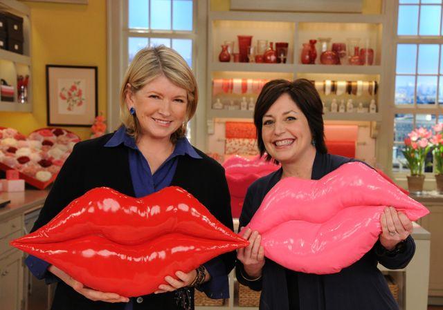 Martha and me lips