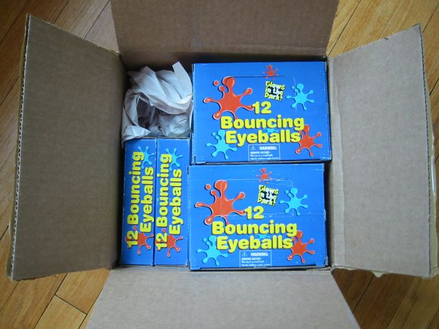 Box of eyeballs